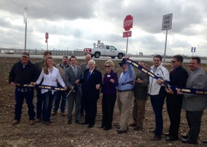 Bud Stockton Loop ribbon cutting