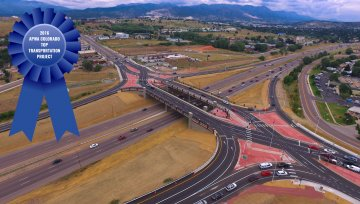 I-25/Fillmore Street Diverging Diamond Interchange