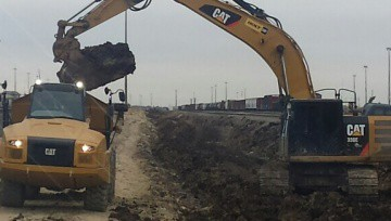 BNSF Alliance IMF Mainline, Storage, and Wye Track Construction