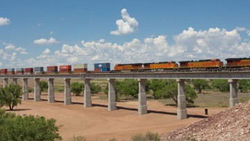 BNSF Ft. Sumner to Agudo Pecos River Bridge