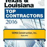 SEMA's Texas & Southeast District ENR Rankings!