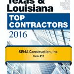 SEMA's Texas & Southeast District ENR Rankings!