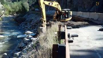SH 119 Emergency Flood Repairs Modified Design-Build